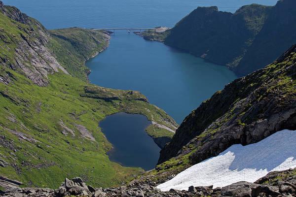 Photograph - Djupfjord And Lake 229 From Munken by Aivar Mikko