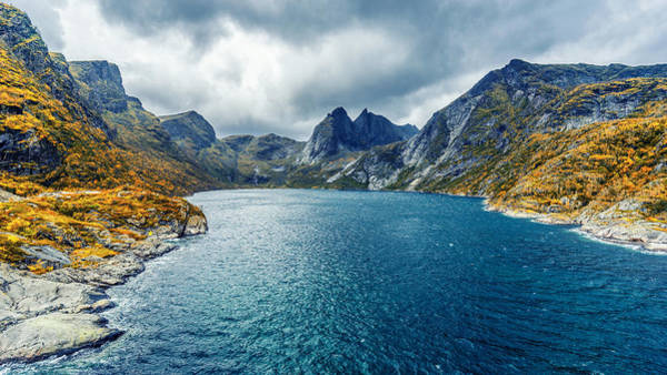 Photograph - Dupfjorden by James Billings