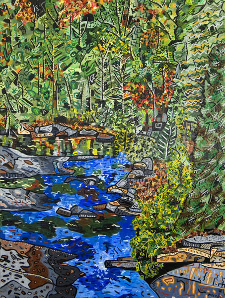 Dupont Wall Art - Painting - Dupont Forest by Micah Mullen