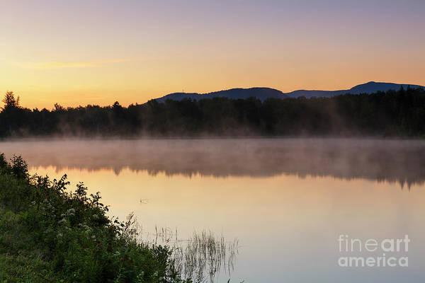 Photograph - Durand Lake Sunrise - Randolph New Hampshire by Erin Paul Donovan