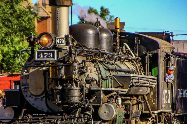 Photograph - Durango And Silverton No 473 by Dale R Carlson