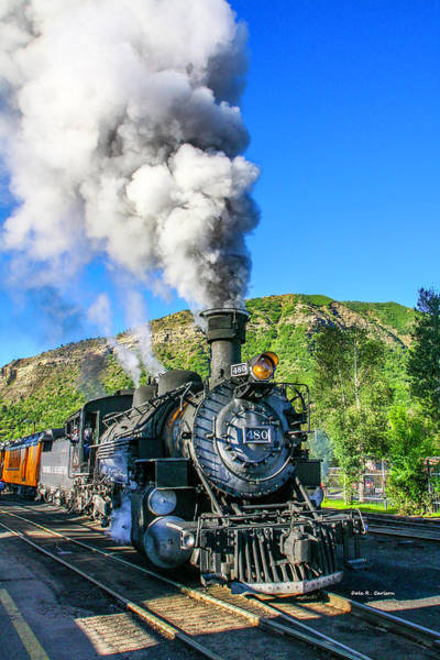 Photograph - Durango And Silverton No 480 by Dale R Carlson