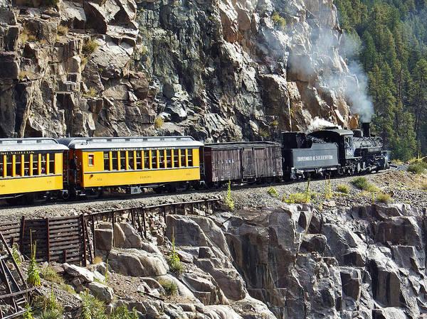 Photograph - Durango And Silverton Railroad by Kurt Van Wagner