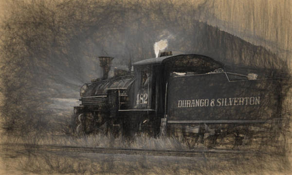 Photograph - Durango And Silverton Train 2 by Ginger Wakem