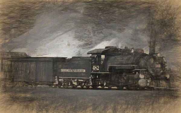 Photograph - Durango And Silverton Train 4 by Ginger Wakem