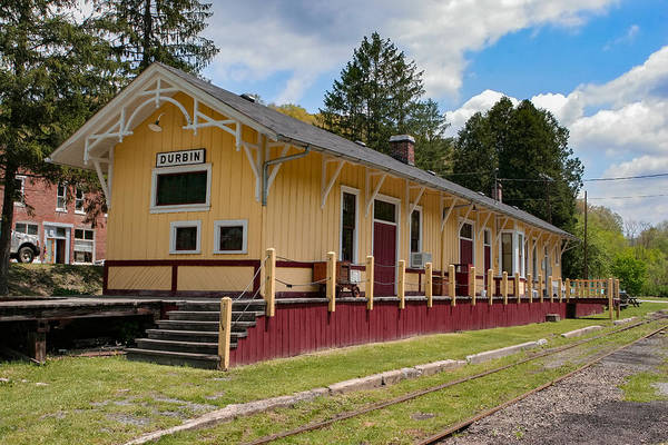 Photograph - Durbin Train Station by Mary Almond