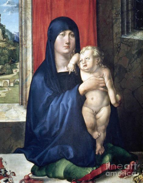 Wall Art - Photograph - Durer: Madonna & Child by Granger