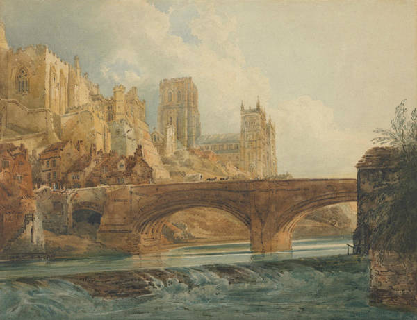 Painting - Durham Cathedral And Castle by Thomas Girtin