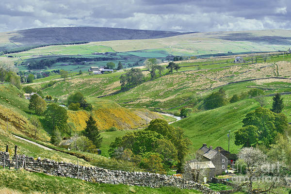 Photograph - Durham Dales Countryside - Weardale by Martyn Arnold