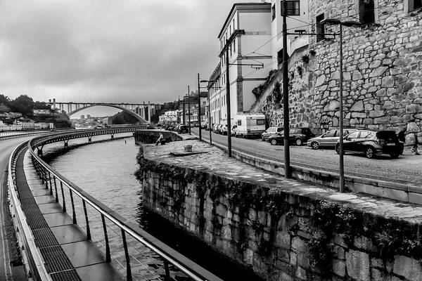 Photograph - Duro River Scene In Porto, Portugal by Sven Brogren