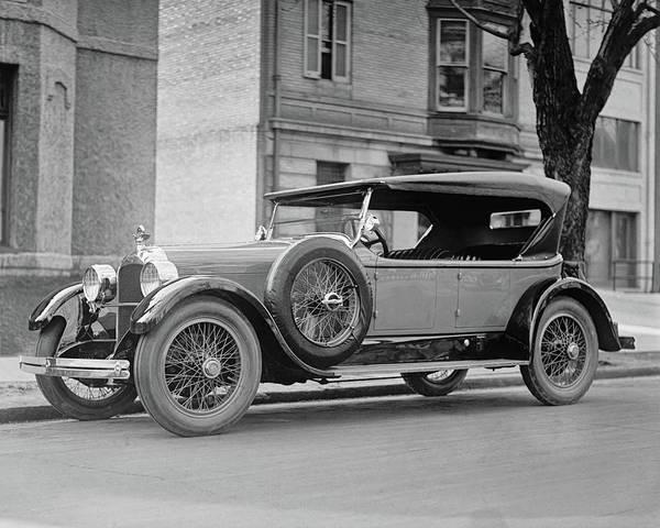 Photograph - Dusenberg Car Circa 1923 by Anthony Murphy