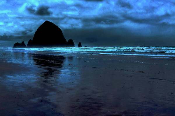 Photograph - Dusk At Cannon Beach by David Patterson