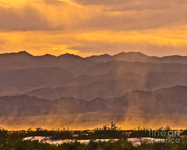 Wall Art - Photograph - Dusk At Dunes by Stephen Whalen