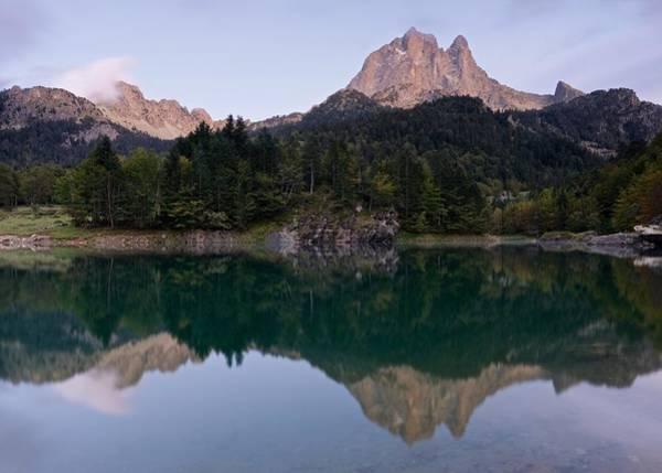 Photograph - Dusk At Lac De Bious-artigues by Stephen Taylor