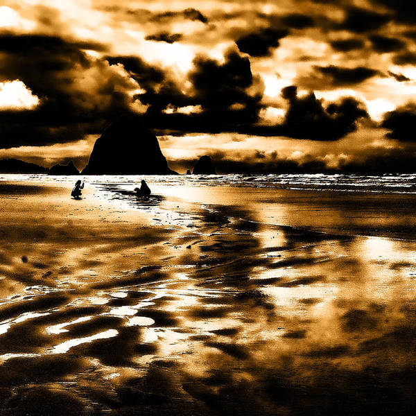Photograph - Dusk At The Beach by David Patterson