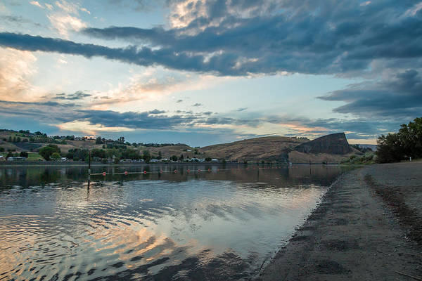 Lewiston Photograph - Dusk By The River by Brad Stinson