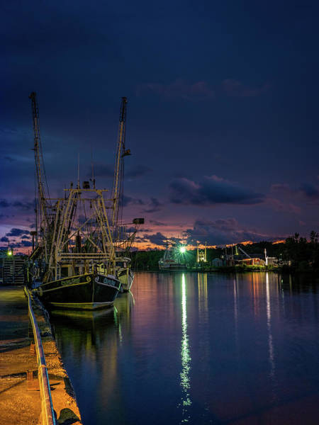 Photograph - Dusk Colors In The Bayou by Brad Boland