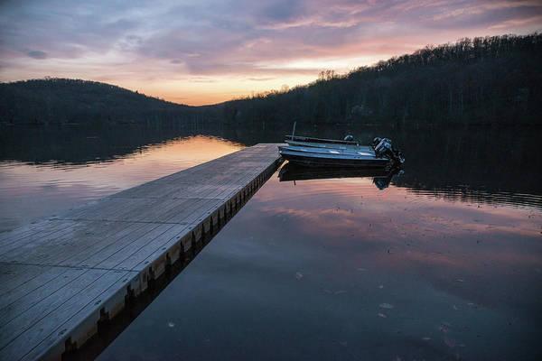Photograph - Dusk Dock by Kristopher Schoenleber