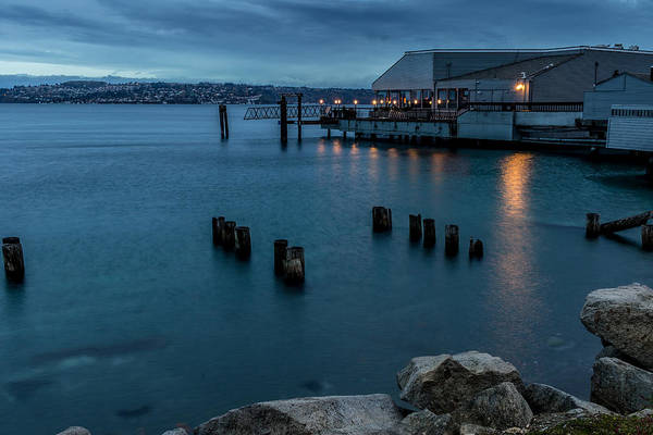 Photograph - Dusk Falls Over The Lobster Shop by Rob Green