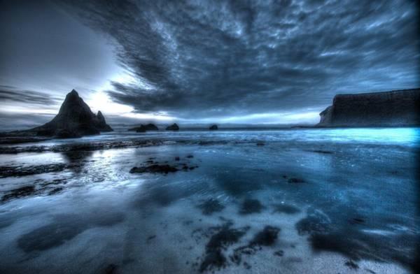Photograph - Dusk In Half Moon Bay by John King