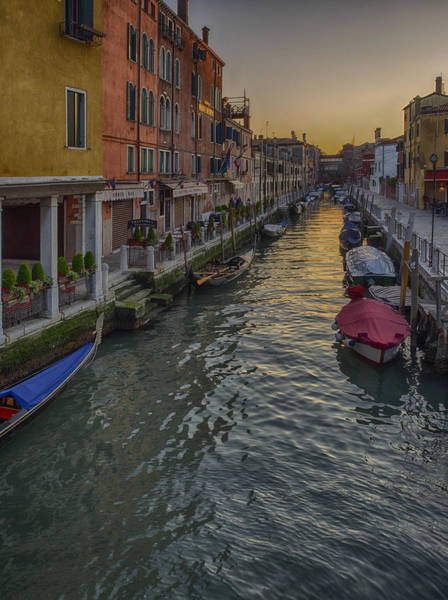 Photograph - Dusk In Venice by Stephen Barrie