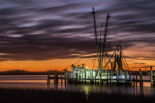 Photograph - Dusk Meets Night  by Donnie Whitaker