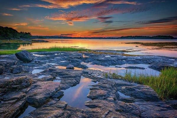 East County Photograph - Dusk On Littlejohn Island by Rick Berk
