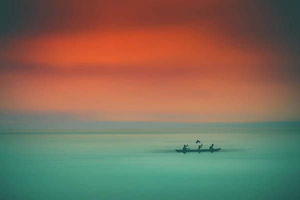 Photograph - Dusk On The Lake by Marji Lang