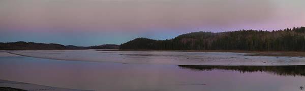 Photograph - Dusk On The Machias River by John Meader