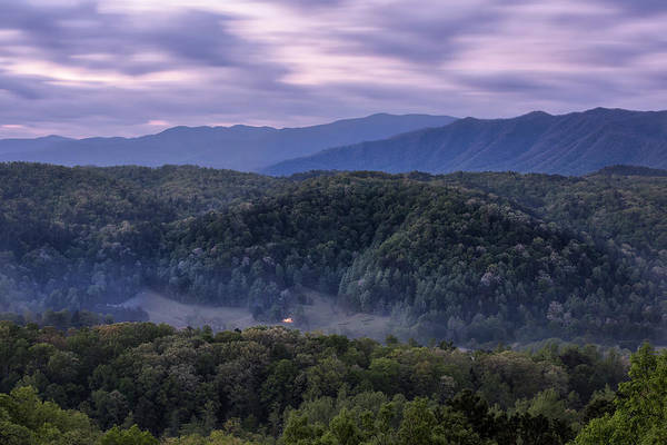 Wall Art - Photograph - Dusk On The Parkway by Jon Glaser