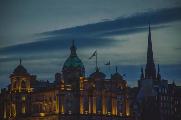 Photograph - Dusk Over Edinburgh by Edyta K Photography