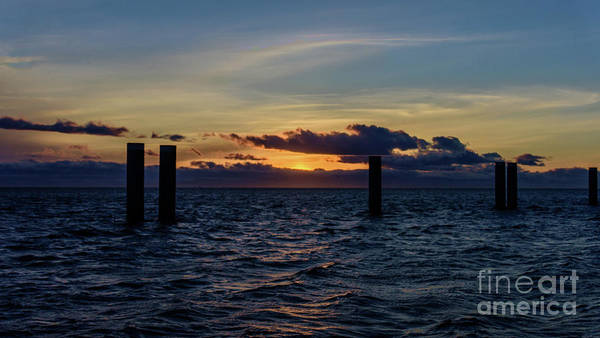 Evening Wall Art - Photograph - Dusk Over The Ocean by Viktor Birkus