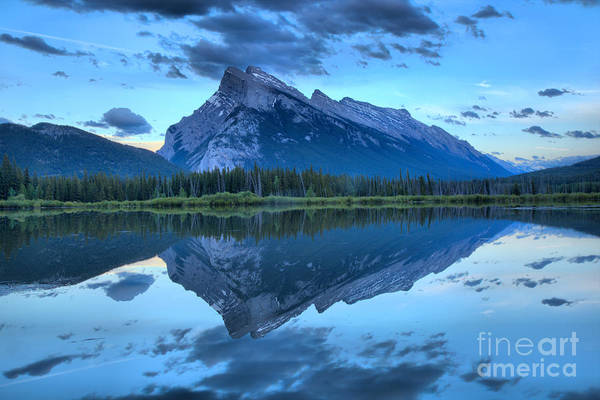 Photograph - Dusk Reflections Of Rundle by Adam Jewell