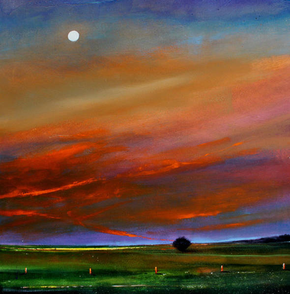Wall Art - Painting - Dusk To Dawn by Toni Grote