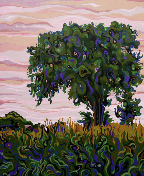 Painting - Dusky Yielding Filatree by Amy Ferrari