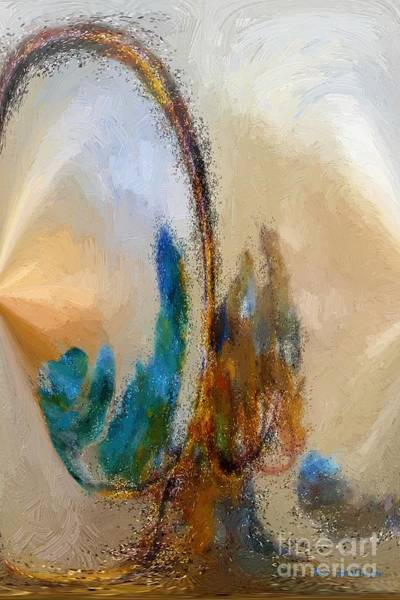 Wall Art - Painting - Dust Devil by RC DeWinter