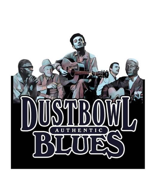 Elliott Digital Art - Authentic Dustbowl Blues by David Richardson