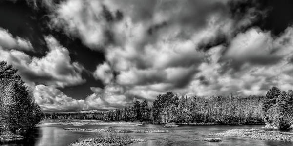 Photograph - Dusting Of Snow On The River by David Patterson