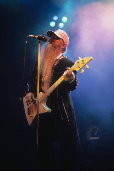 Photograph - Dusty Hill by Rich Fuscia