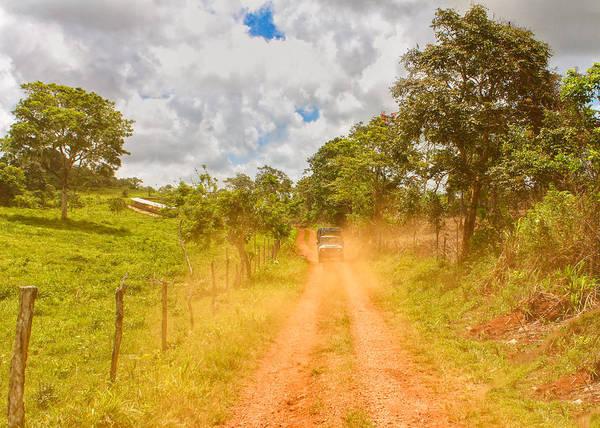 Photograph - Dusty Jamaican Road by John M Bailey