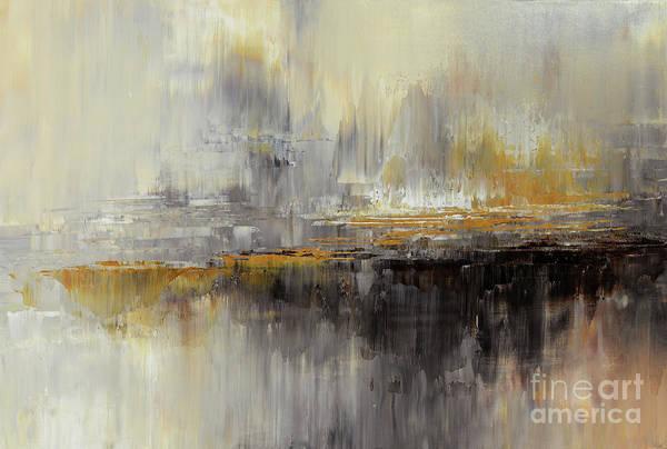 Ambiguous Painting - Dusty Mirage by Tatiana Iliina