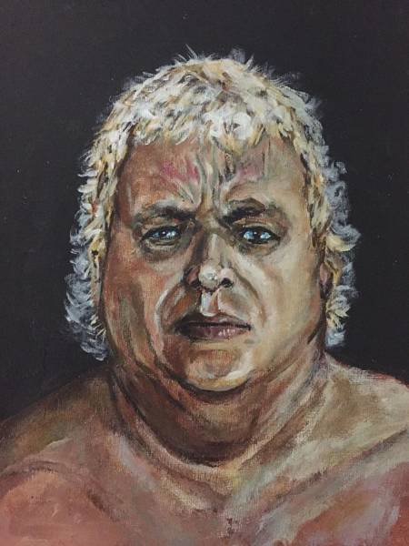 Painting - Dusty Rhodes by Joel Tesch