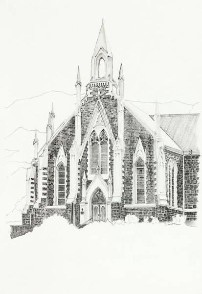 Dutch Reformed Church Piketberg Art Print