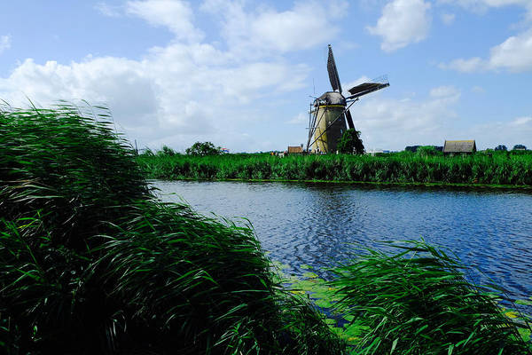 Photograph - Dutch Windmill by August Timmermans