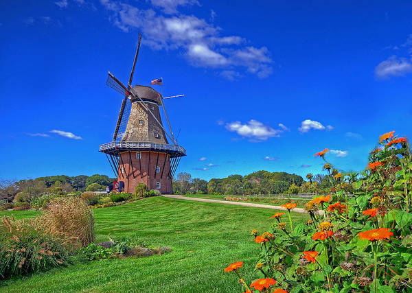 Photograph - Dutch Windmill by Rodney Campbell