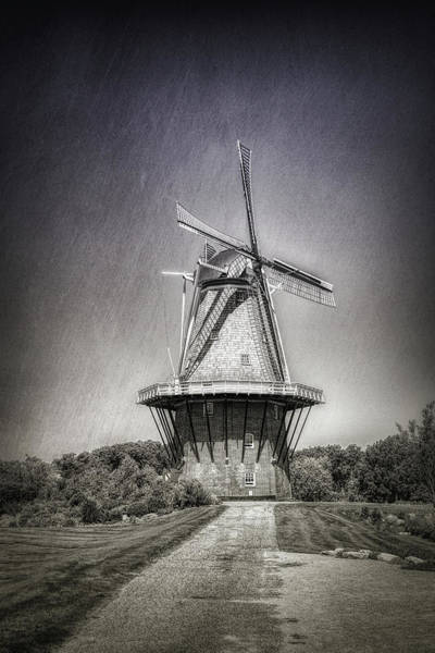 Mills Photograph - Dutch Windmill by Tom Mc Nemar