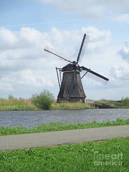 Wall Art - Photograph - Dutch Windmills 10 by Randall Weidner