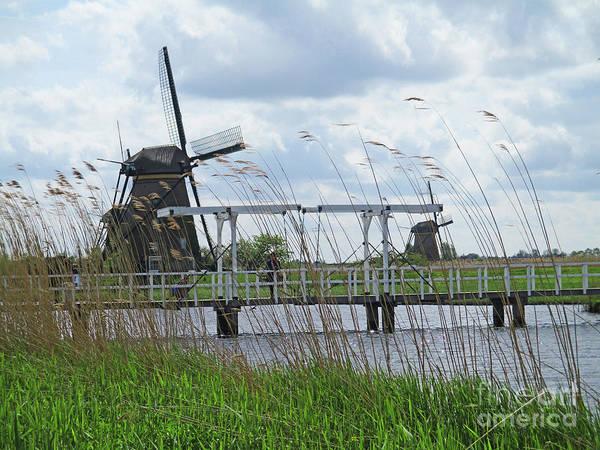 Wall Art - Photograph - Dutch Windmills 12 by Randall Weidner