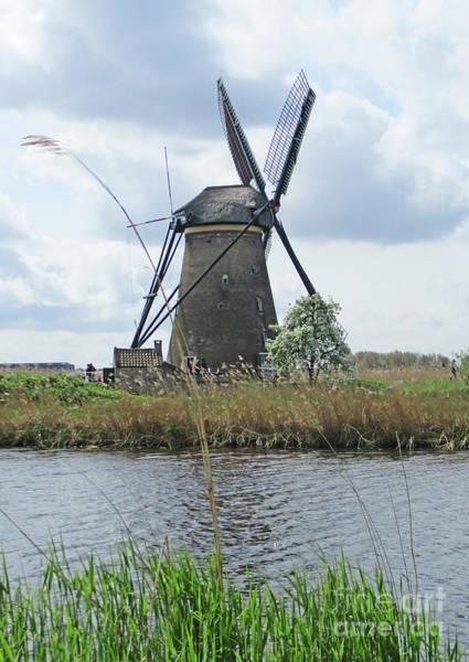 Wall Art - Photograph - Dutch Windmills 13 by Randall Weidner