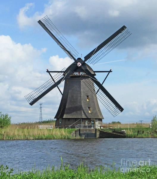 Wall Art - Photograph - Dutch Windmills 14 by Randall Weidner